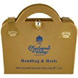 Charbonnel Handbag & Heels Sea Salt Caramel Chocolate Shoes 60g